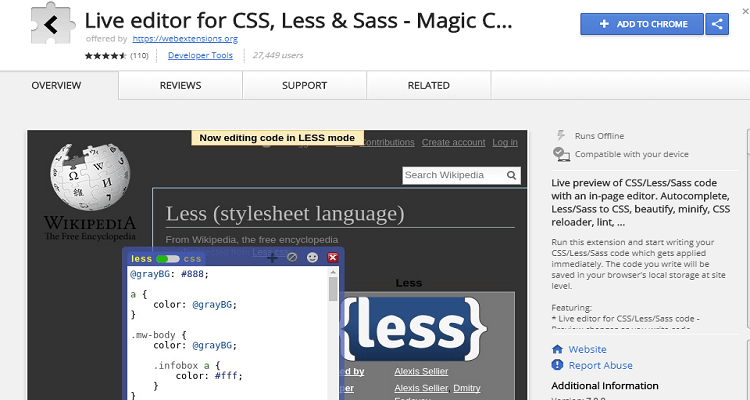 Magic CSS